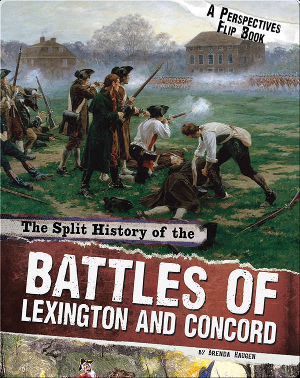 Split History of the Battles of Lexington and Concord