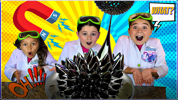 MAGNETIC LIQUID Science Experiment!