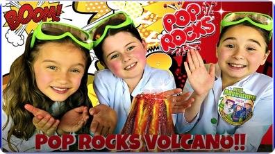 Volcano Eruption Science Experiment!
