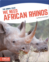 We Need African Rhinos