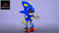 How To Build LEGO Metal Sonic