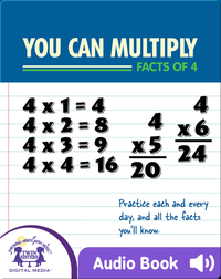 You Can Multiply Facts of 4