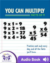 You Can Multiply Facts of 9
