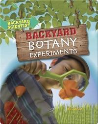 Backyard Botany Experiments