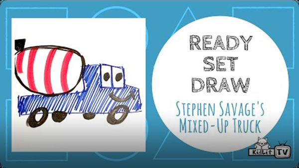 Ready Set Draw: The Mixed-up Truck
