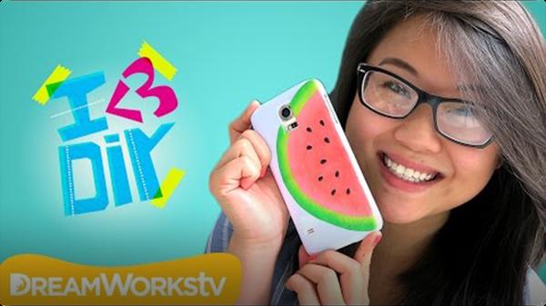 Watermelon Phone Case with Coolricebunnies | I ♥ DIY