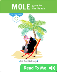 Mole goes to the Beach