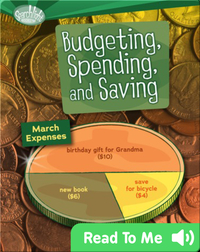 Budgeting, Spending, and Saving