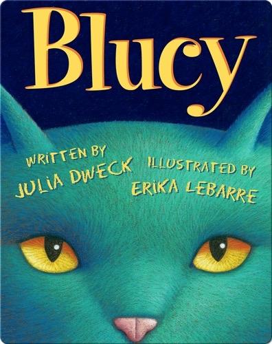 Blucy: The Blue Cat