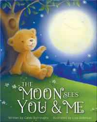 The Moon Sees You and Me