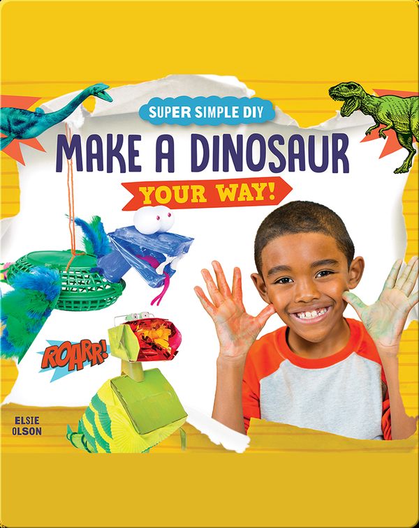Make a Mini Dinosaur Your Way!
