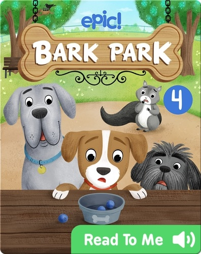Bark Park: The Missing Blueberries
