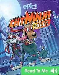 Cat Ninja Tales: Adonis, Robot Dog Ninja