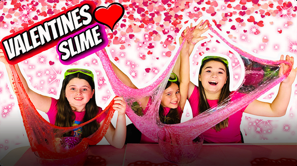 How to Make Super CRUNCHY Valentines Day Slime!