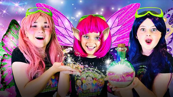 Make Magical Glow in the Dark Fairy Dust!