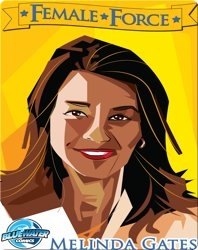Female Force : Melinda Gates
