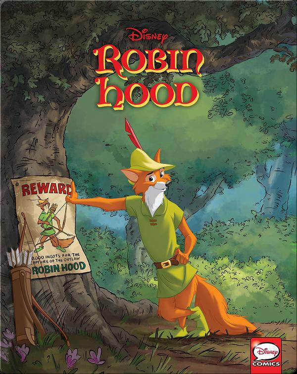 disney classics robin hood children's bookfrançois