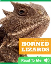 Reptile World: Horned Lizards