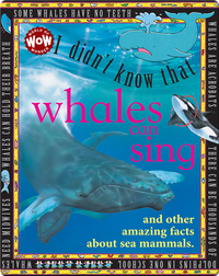 I Didn't Know That Whales Can Sing