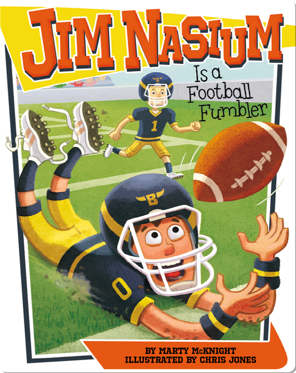 Jim Nasium Is a Football Fumbler