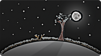 Why The Full Moon is Better in Winter