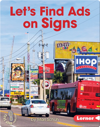 Let's Find Ads on Signs