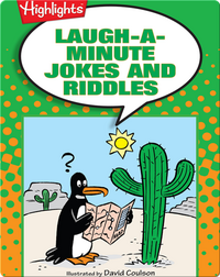 Laugh-a-Minute Jokes and Riddles