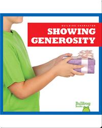 Building Character: Showing Generosity