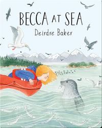Becca at Sea