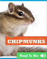 My First Animal Library: Chipmunks