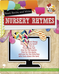 Read, Recite, and Write Nursery Rhymes