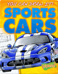 You Can Draw It! Sports Cars!