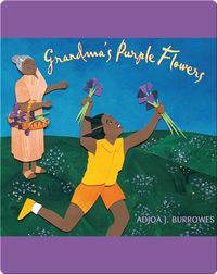 Grandma's Purple Flowers