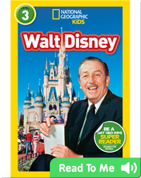 National Geographic Readers: Walt Disney