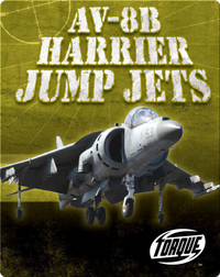 AV-8B Harrier Jump Jets