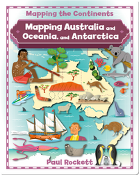 Mapping Australia and Oceania, and Antarctica