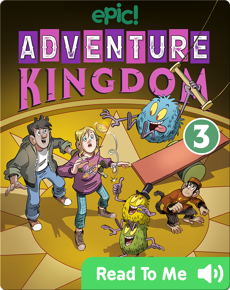 Adventure Kingdom Book 3: Trains, Tails, and Traitors! Children's Book by Steve Foxe With